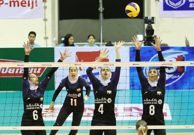 شکست دختران والیبالیست ایران در AVC CUP، سومین دیدار با استرالیا برای عنوان هفتمی