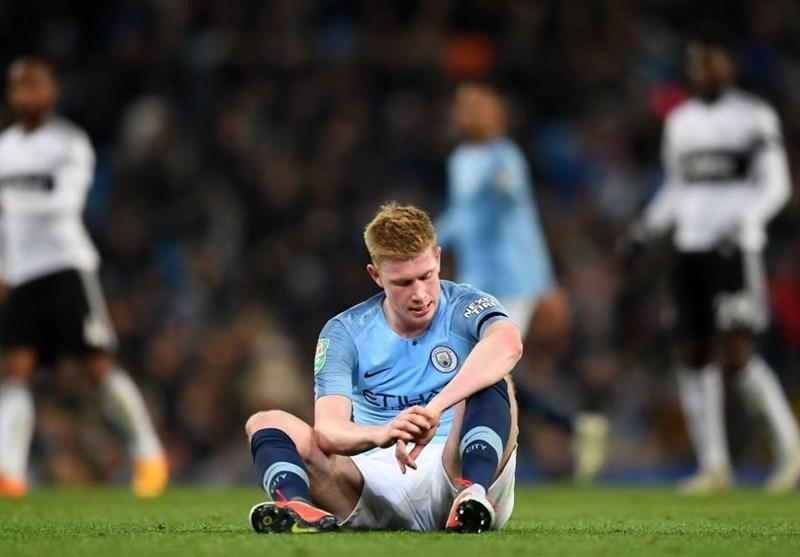 فوتبال دنیا، کوین دی بروینه 5 تا 6 هفته خانه نشین شد
