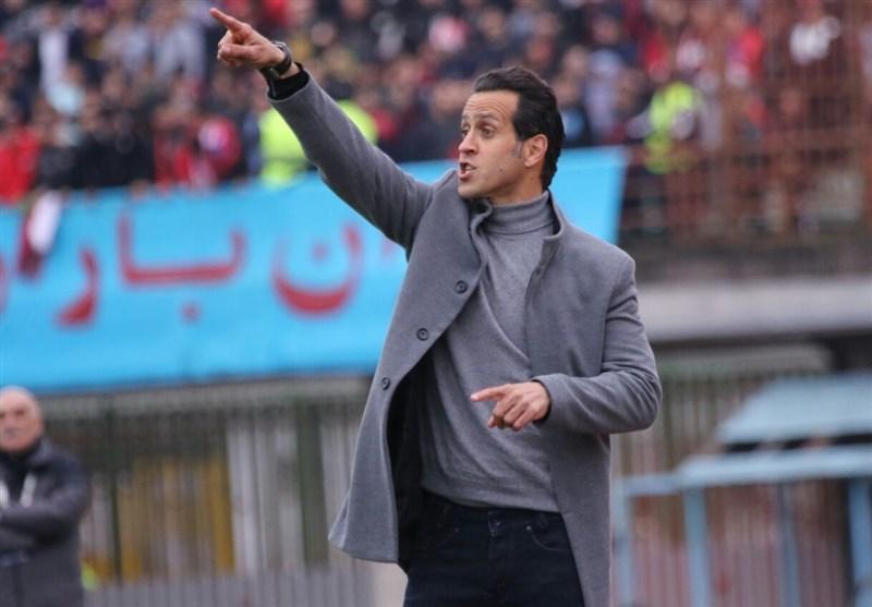 اصفهان، علی کریمی در نشست خبری پیش از دیدار سپاهان - سپیدرود شرکت نکرد