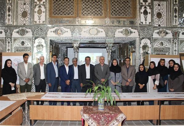 نمایشگاه دستاوردهای پایگاه میراث فرهنگی شهر تاریخی شیراز افتتاح شد