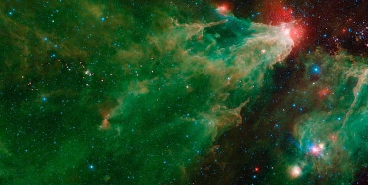 تلسکوپ فضایی اسپیتزر تولد تا کهنسالی ستاره ها را در یک عکس ثبت کرد