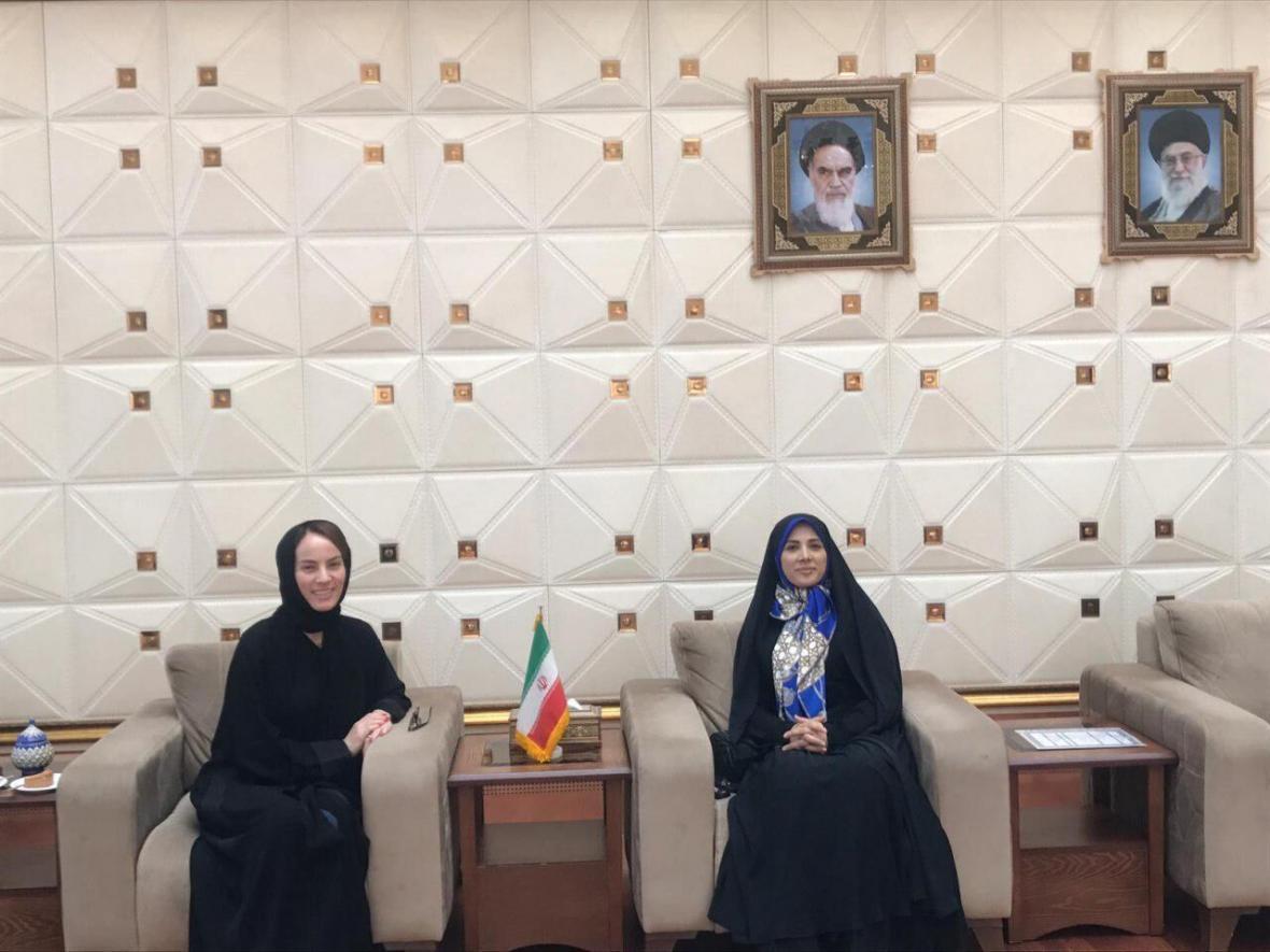 خبرنگاران رئیس اتحادیه بین المجالس جهانی وارد تهران شد