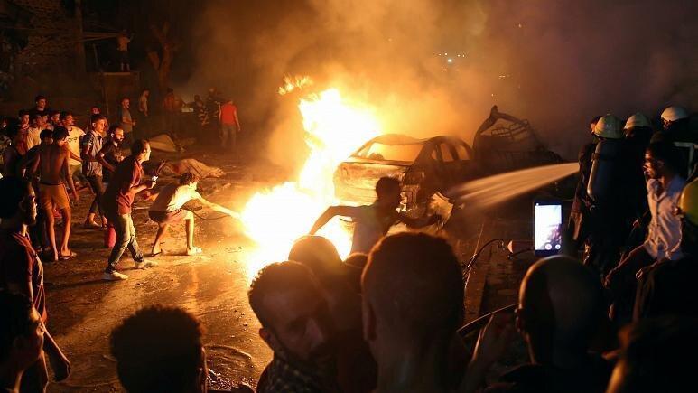 19 کشته در سانحه انفجار خودرو در قاهره