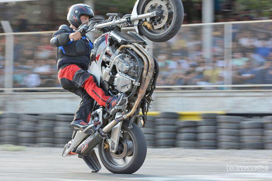 نفرات برتر اولین دوره مسابقات حرکات مهارتی و نمایشی موتورسواری معرفی شدند