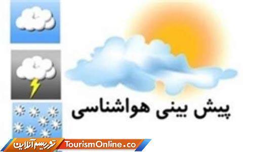 رگبار باران همراه با رعد و برق در 5 استان کشور، آسمان تهران صاف است