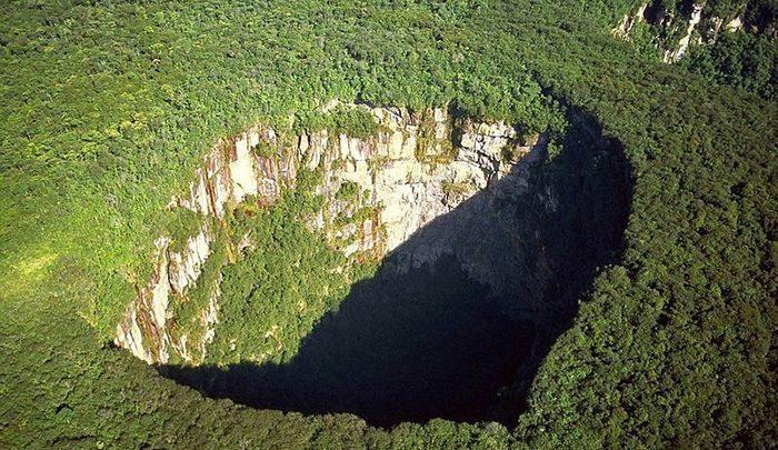 گودال های عظیم سبز و پارک ملی جائوآ ساری ساری نما ، تصاویر