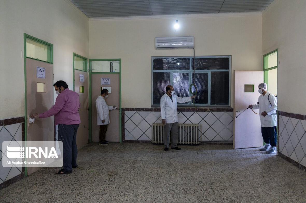 خبرنگاران مراکز شبه خانواده بهزیستی ورامین به طور کامل ضدعفونی شدند