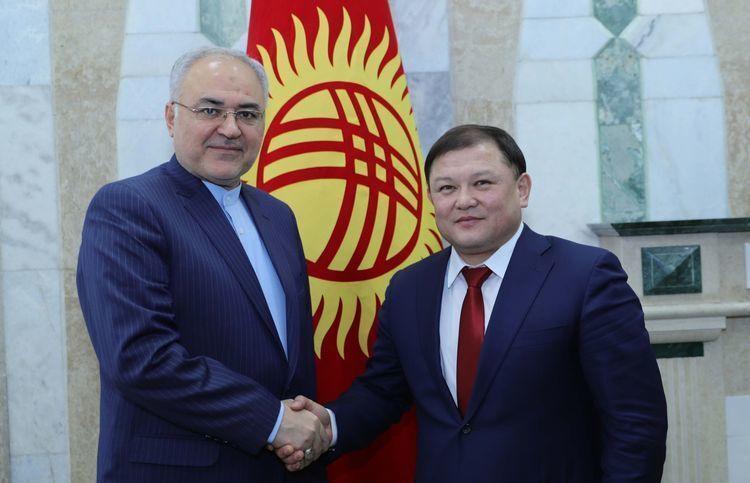 خبرنگاران تاکید مقامات ایران و قرقیزستان بر گسترش همکاری های دوجانبه